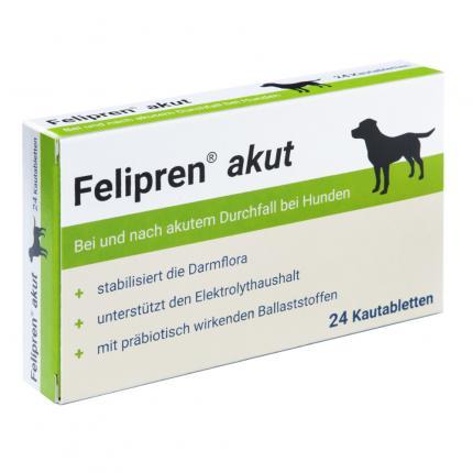 Felipren akut Kautabletten bei Durchfall f. Hunde