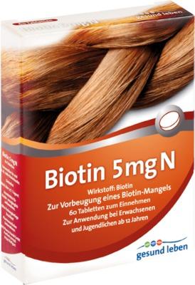 GESUND LEBEN Biotin 5 mg N Tabletten