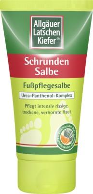 Allgäuer Latschen Kiefer Schrunden Salbe Fußpflegesalbe