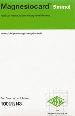 Magnesiocard 5 mmol Pulver