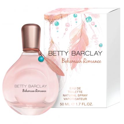 Betty Barcley Bohemian Romance EDT Natural Spray