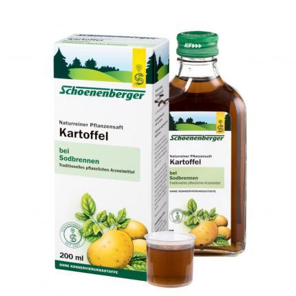 Kartoffel naturreiner Pflanzensaft Schoenenberger