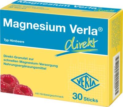 Magnesium Verla direkt Himbeergeschmack