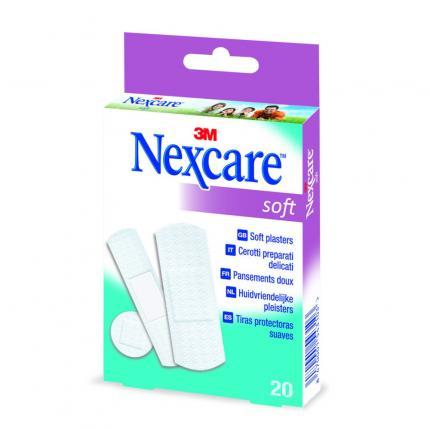 Nexcare Soft Pflasterstrips 3 Größen