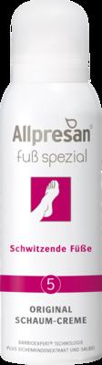 Allpresan Fuß spezial Nr. 5 Original Schaum-Creme Schwitzende Füße
