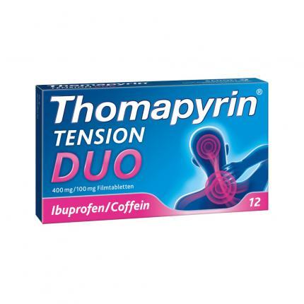 Thomapyrin TENSION DUO bei Kopfschmerzen