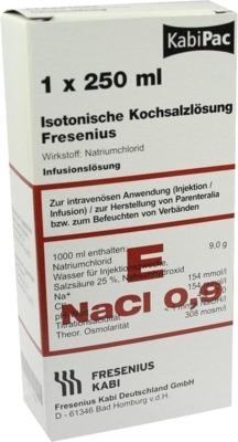 Kochsalzlösung 0,9% Plastikflasche Fresenius