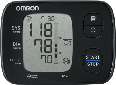 OMRON RS6 Handgelenk Blutdruckmessgerät