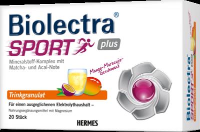 BIOLECTRA Sport Plus Trinkgranulat