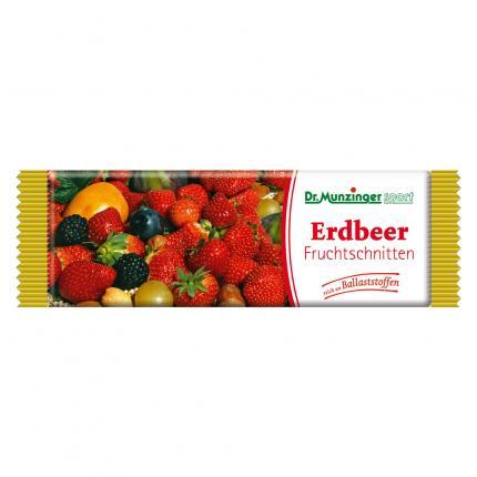 DR.MUNZINGER Fruchtschnitte Erdbeere