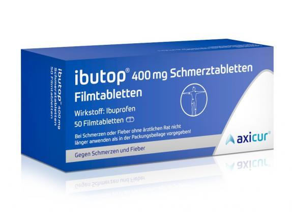 ibutop 400 mg Schmerztabletten