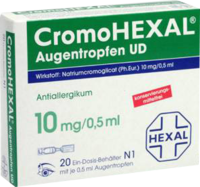 CromoHEXAL Augentropfen UD