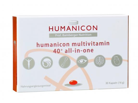 Humanicon Multivitamin 40+ all-in-one