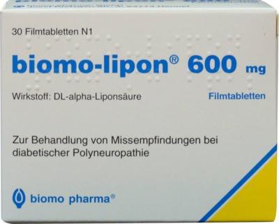 Biomo-lipon 600mg