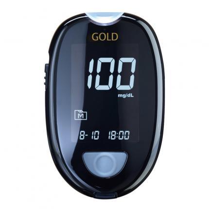 GLUCO CHECK GOLD Blutzuckermessgerät Set mg/dl