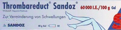 Thrombareduct Sandoz 60000 I.E./100g