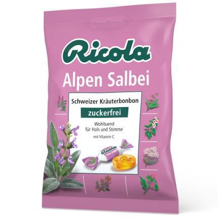 Ricola Alpen Salbei Bonbons zuckerfrei