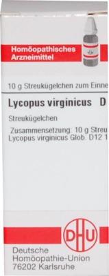 LYCOPUS VIRGINICUS D 12 Globuli
