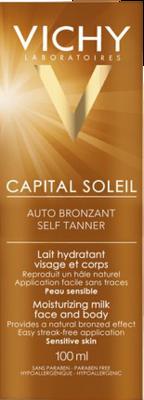 VICHY CAPITAL Soleil Selbstbräuner Milch Gesicht u. Körper