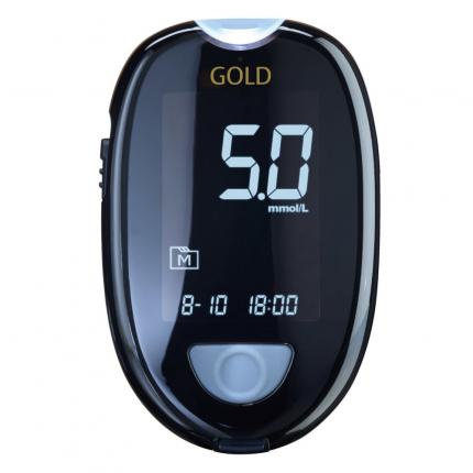 GLUCO CHECK GOLD Blutzuckermessgerät Set mmol/l