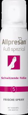 Allpresan Fuß spezial Nr. 5 Frische-Spray Schwitzende Füße