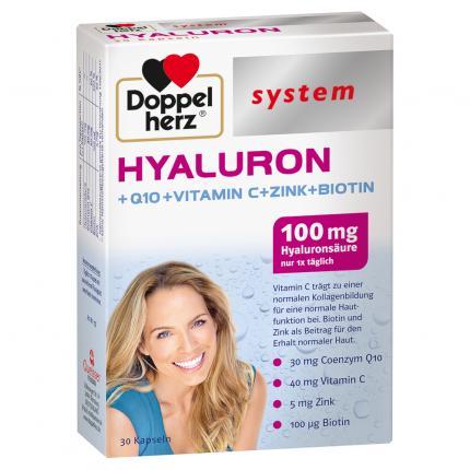 DOPPELHERZ Hyaluron system Kapseln