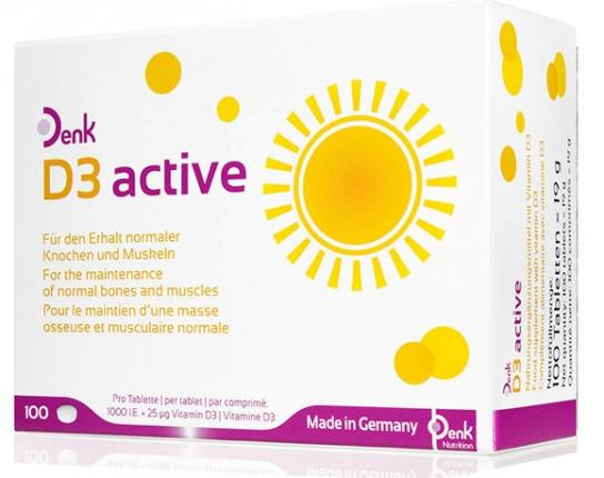 D3 Active Denk Tabletten