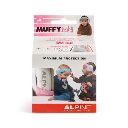 ALPINE MUFFY Ohrenschützer Baby rosa
