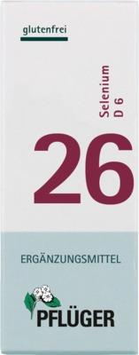 BIOCHEMIE Pflüger 26 Selenium D 6 Tabletten