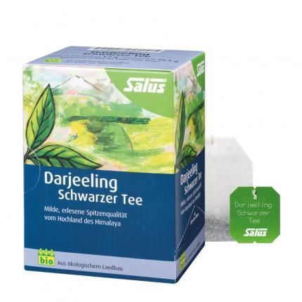 Darjeeling Schwarzer Tee Bio Salus Filterbeutel