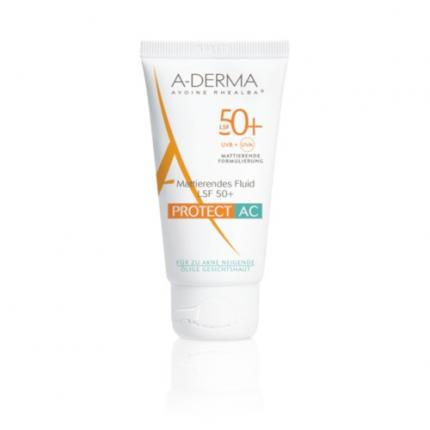A-DERMA PROTECT AC mattierendes Fluid LSF 50+