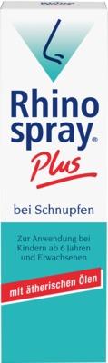 Rhinospray Plus bei Schnupfen Nasenspray