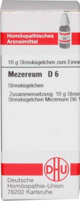 MEZEREUM D 6 Globuli