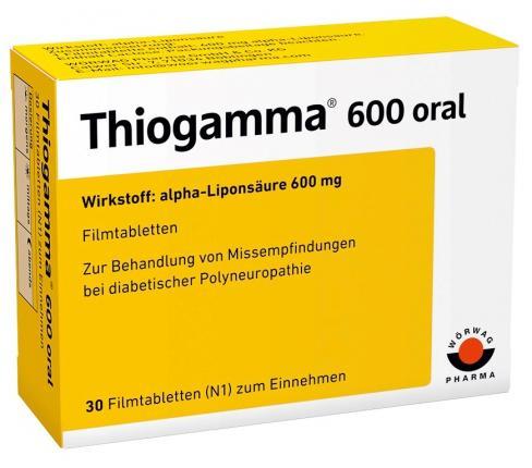 Thiogamma 600 oral
