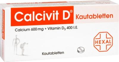 Calcivit D 600mg/400 I.E.