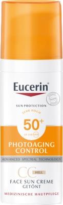 Eucerin Sun Creme Getönt LSF 50+ Hell
