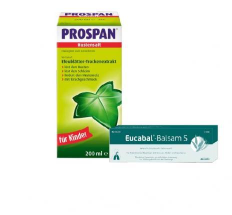 Prospan Hustensaft + Eucabal Balsam S Set