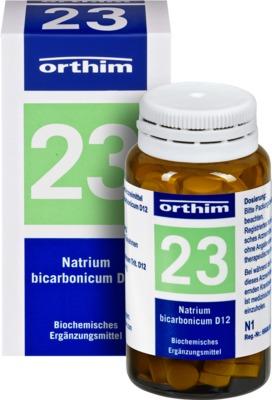 BIOCHEMIE orthim 23 Natrium bicarbonicum D 12 Tabletten