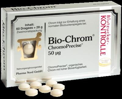 BIO CHROM ChromoPrecise 50 µg Pharma Nord Dragees