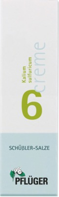 BIOCHEMIE Pflüger 6 Kalium sulfuricum Creme