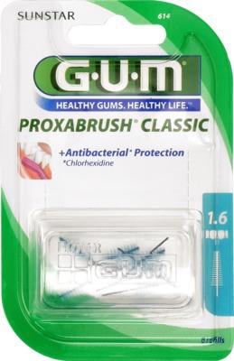 GUM Proxabrush Ersatzbürsten 0,7 mm Tanne