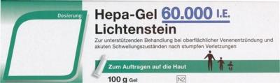 Hepa-Gel 60000 I.E. Lichtenstein
