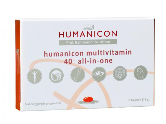 Humanicon Multivitamin 40+ all-in-one
