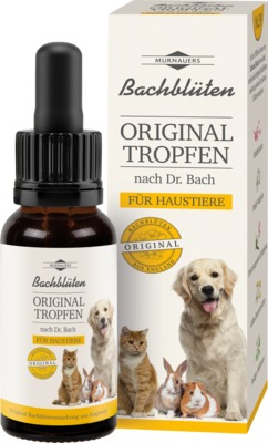 Bachblüten Original Haustier Tropfen Nach Dr.bach