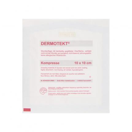 DERMOTEKT Kompresse V 10x10 cm