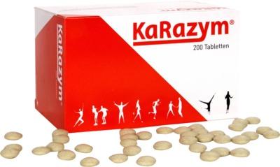 KARAZYM magensaftresistente Tabletten