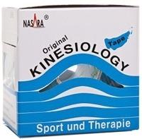 NASARA Kinesiologie Tape 5 cmx5 m blau