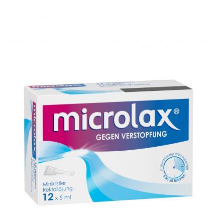 microlax GEGEN VERSTOPFUNG