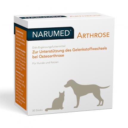 Narumed Arthrose Pulver-sticks F.hunde/katzen