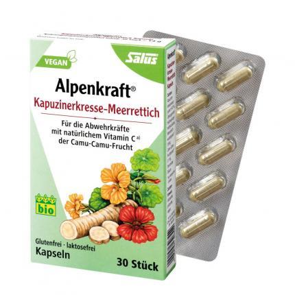 Kapuzinerkresse-meerrettich Kapseln Alpenkraft